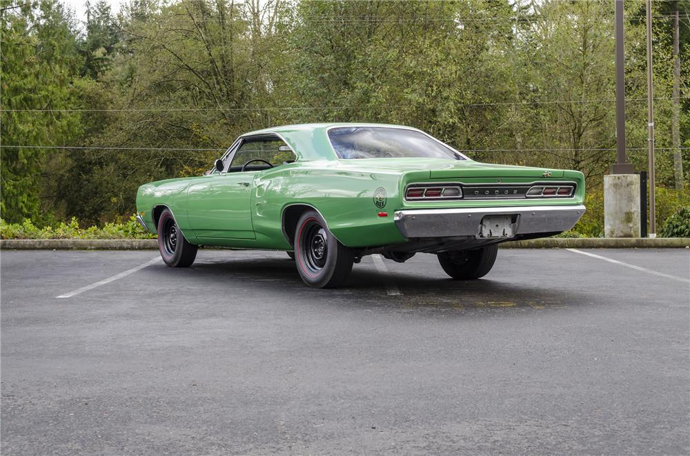 1969 DODGE SUPER BEE - Rear 3/4 - 181098