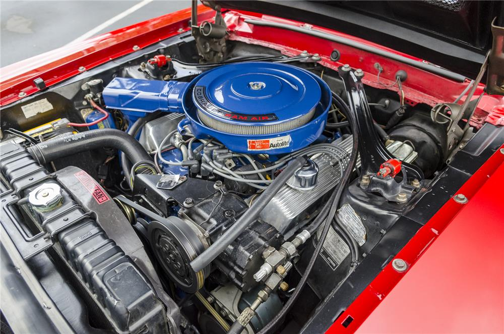 1969 SHELBY GT500 FASTBACK - Engine - 181102
