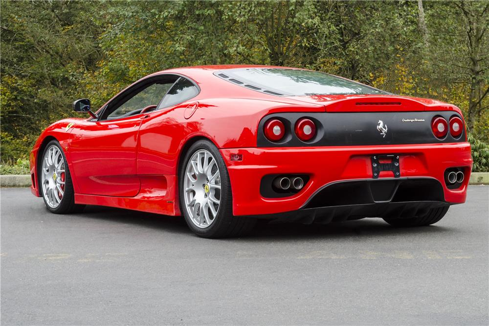 2004 ferrari 360 challenge stradale rear 3 4 181103. Cars Review. Best American Auto & Cars Review
