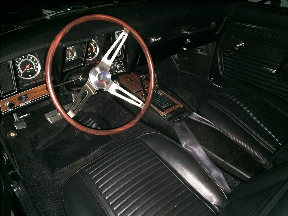 1969 CHEVROLET CAMARO CUSTOM - Interior - 181106