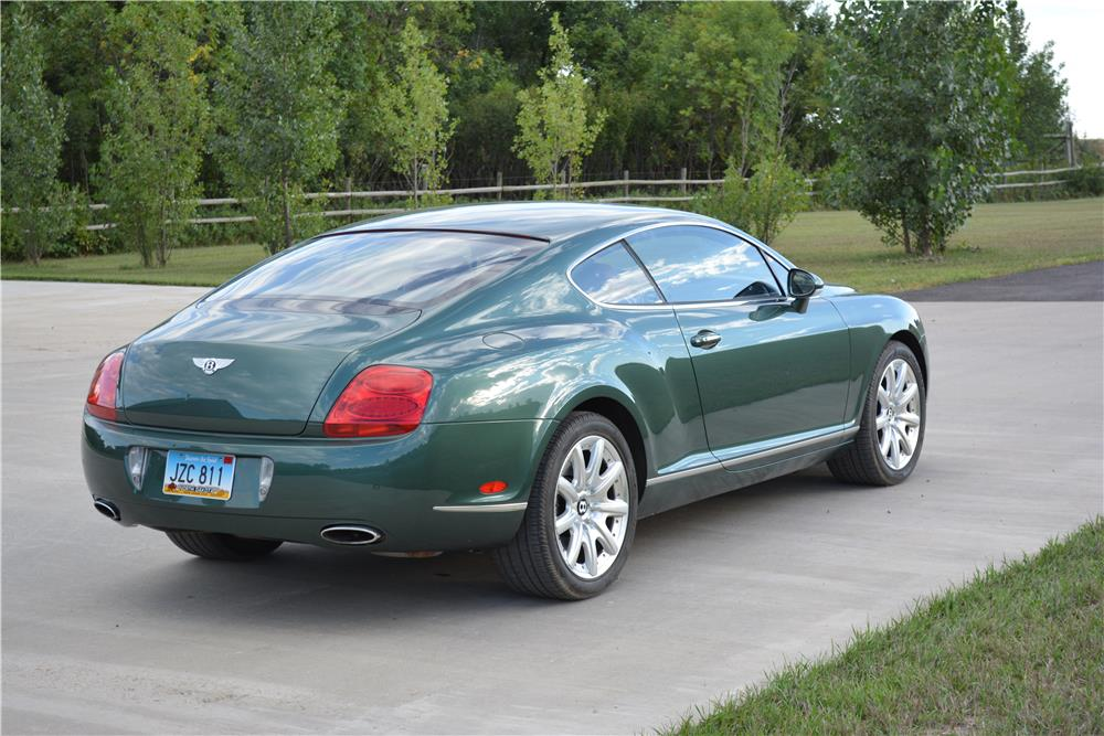 2004 bentley continental gt coupe 181115. Black Bedroom Furniture Sets. Home Design Ideas
