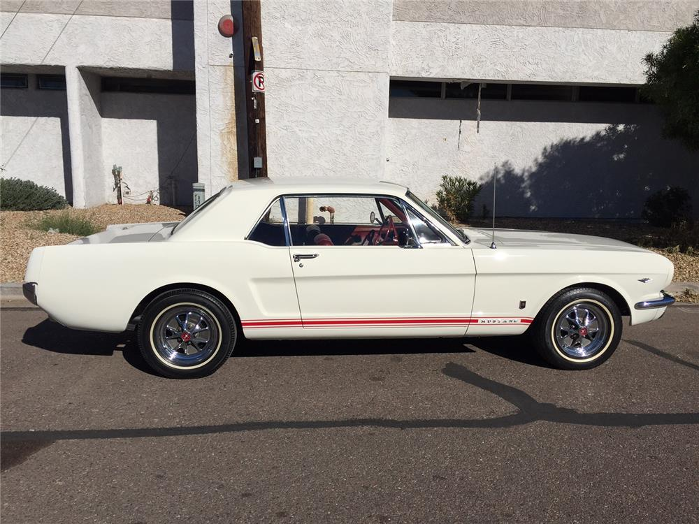 1966 FORD MUSTANG - Side Profile - 181116