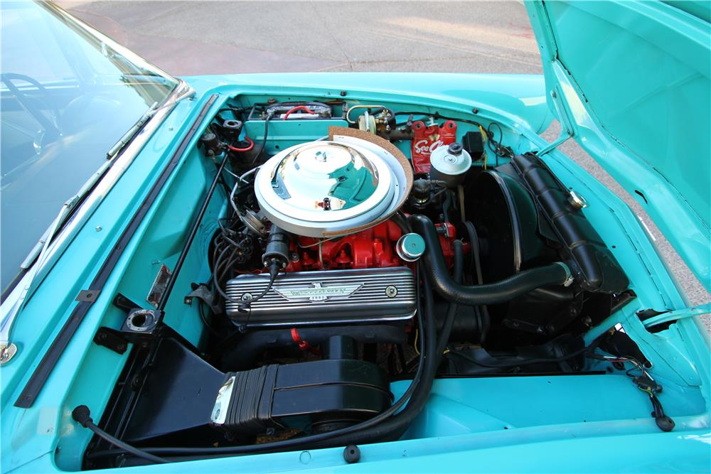 1956 FORD THUNDERBIRD CONVERTIBLE - Engine - 181120