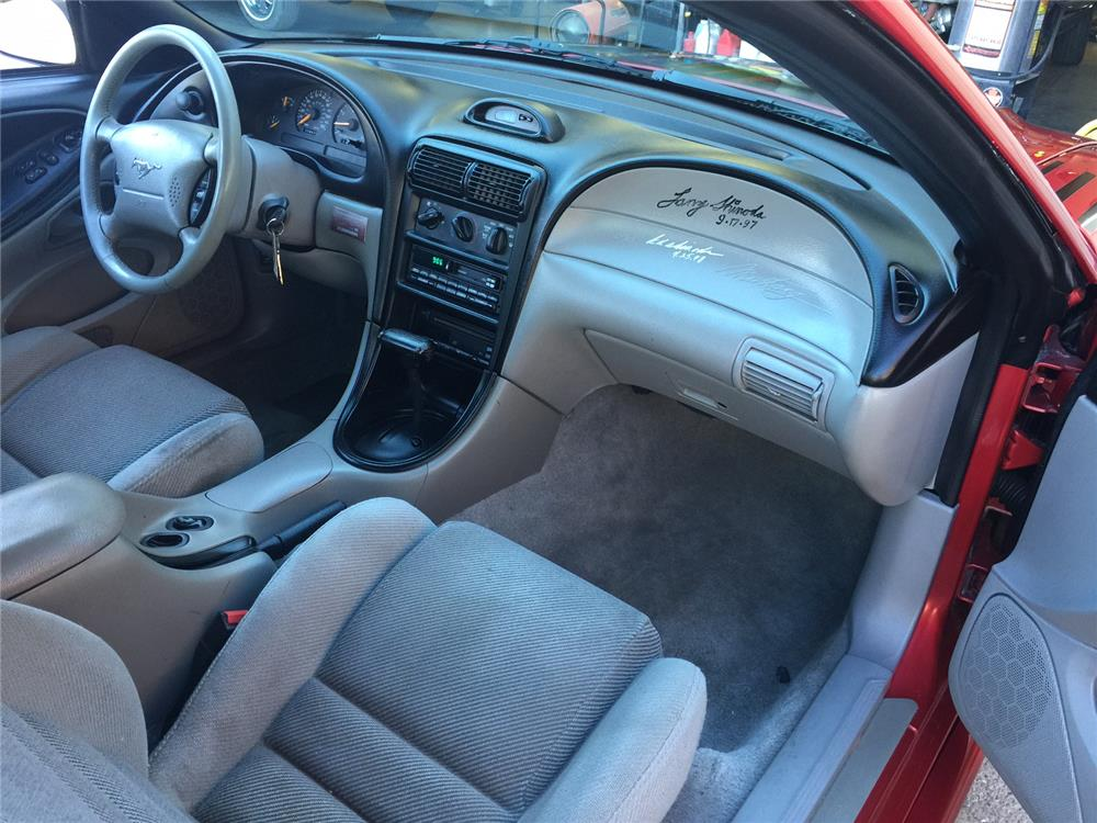 1996 FORD MUSTANG SHINODA BOSS COUPE - Interior - 181124