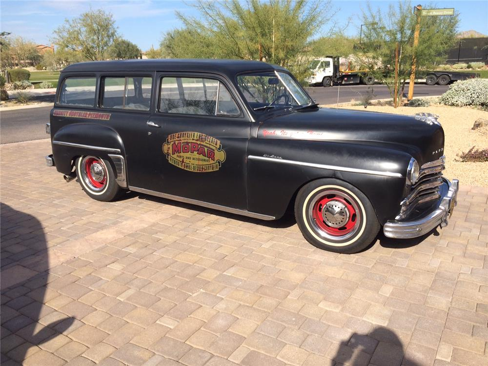1949 PLYMOUTH SUBURBAN CUSTOM WAGON - Side Profile - 181125