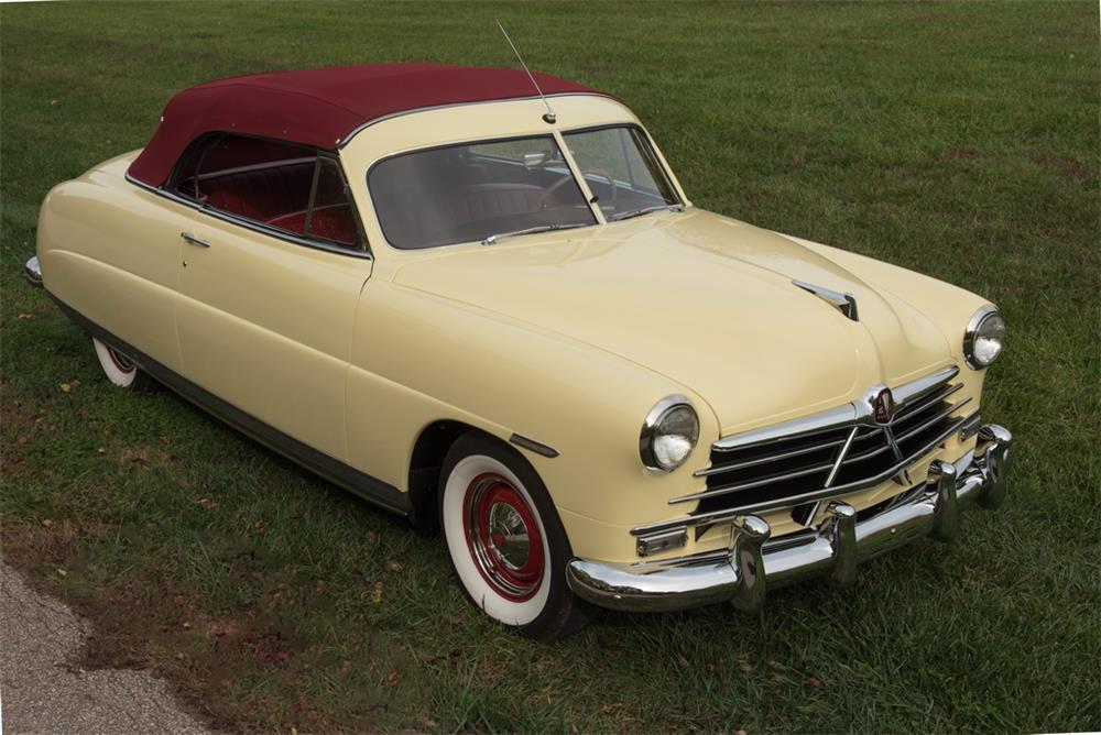 1950 HUDSON PACEMAKER CONVERTIBLE - Front 3/4 - 181129
