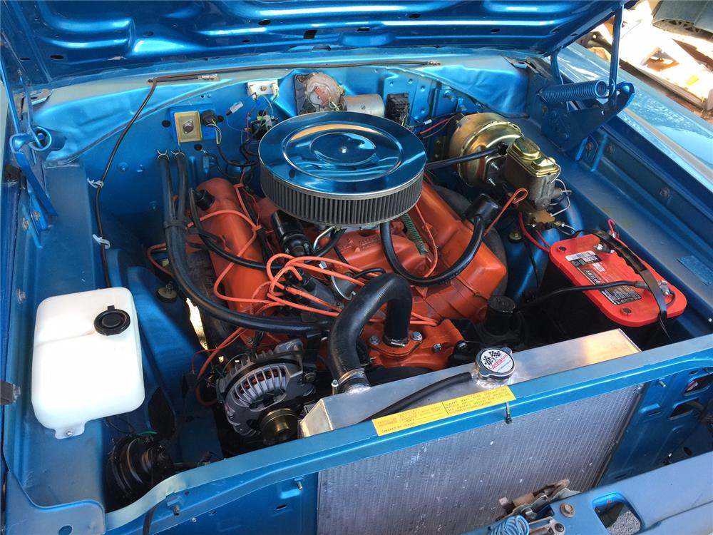 1968 DODGE CORONET CONVERTIBLE - Engine - 181130