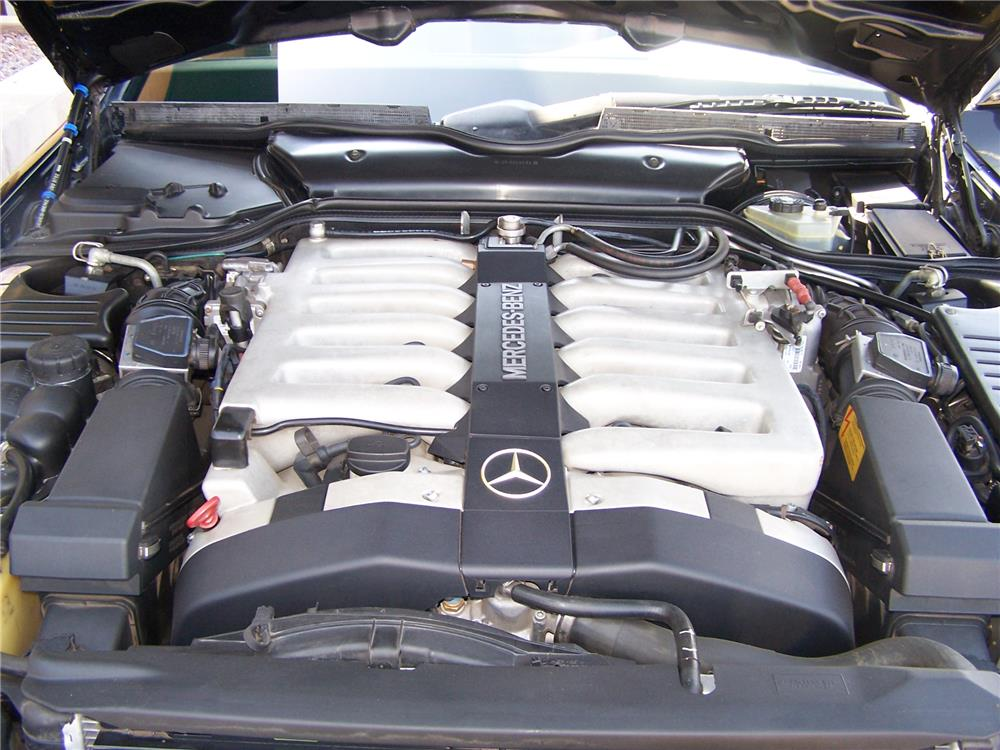 1994 MERCEDES-BENZ SL600 CONVERTIBLE - Engine - 181151