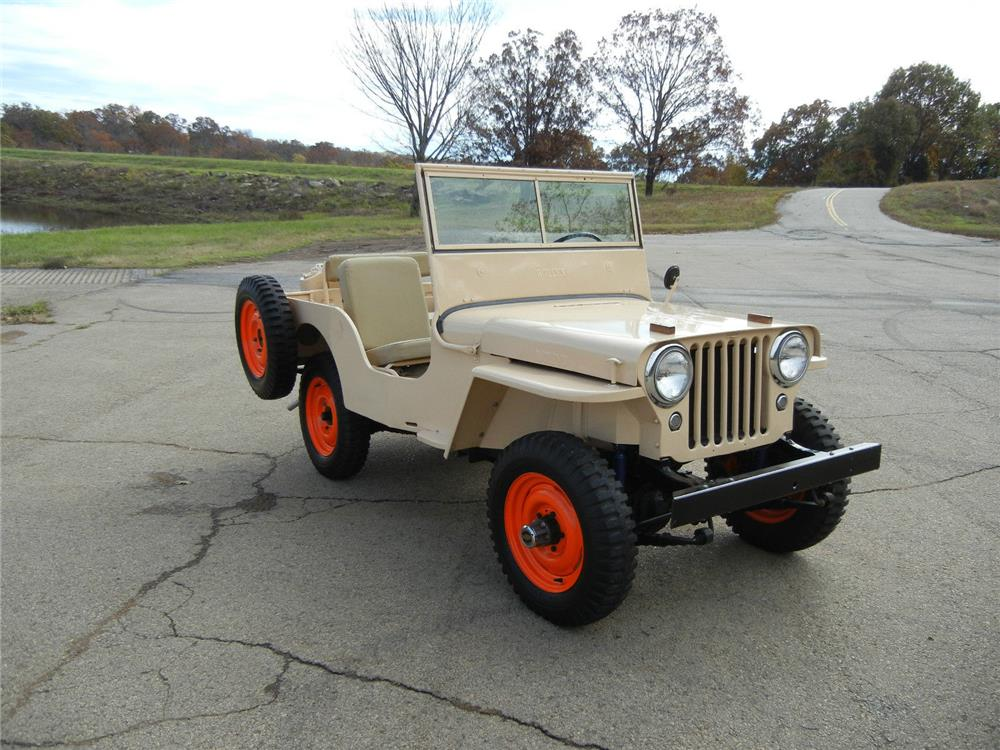 1946 WILLYS CJ2A SUV - 181157