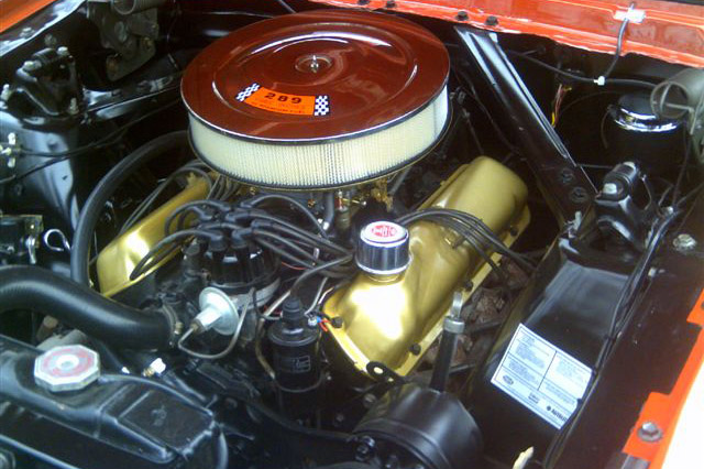 1965 FORD MUSTANG GT CONVERTIBLE - Engine - 181158