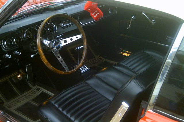 1965 FORD MUSTANG GT CONVERTIBLE - Interior - 181158