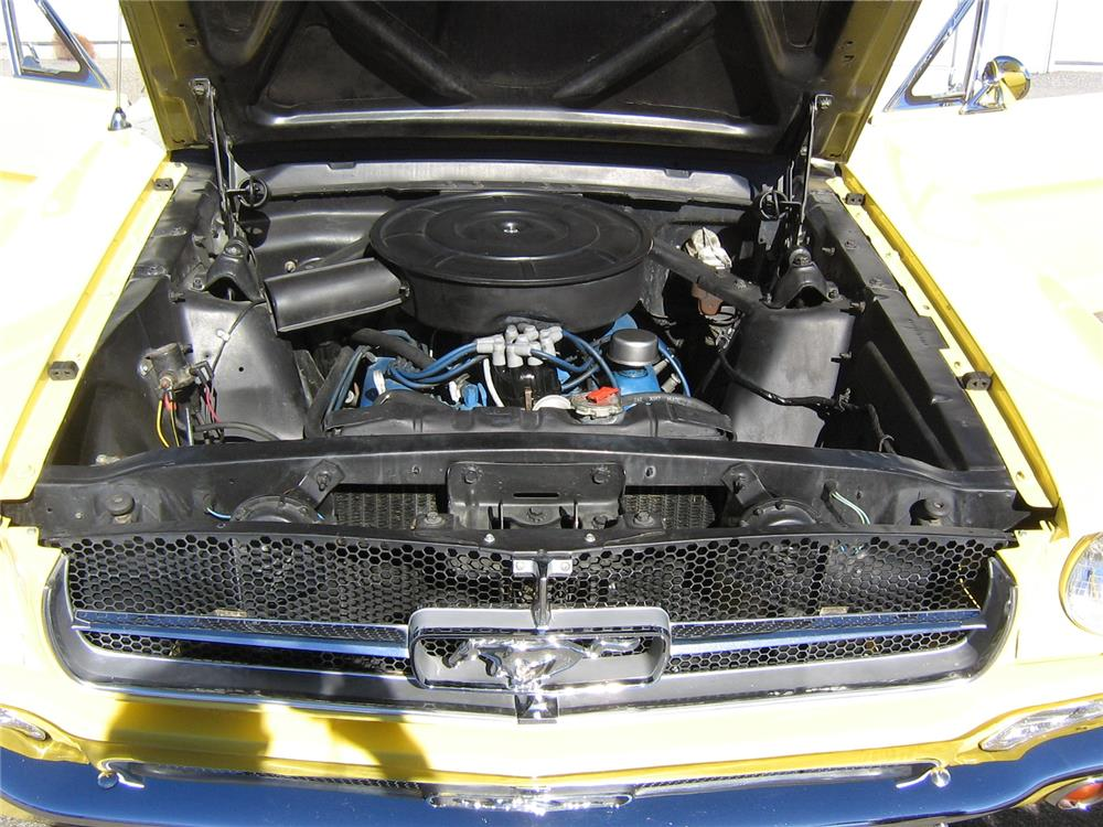 1965 FORD MUSTANG - Engine - 181194