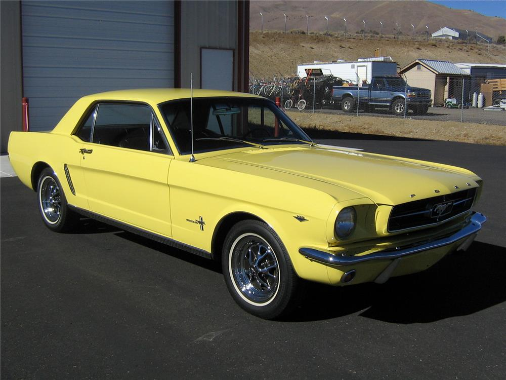 1965 FORD MUSTANG - Front 3/4 - 181194