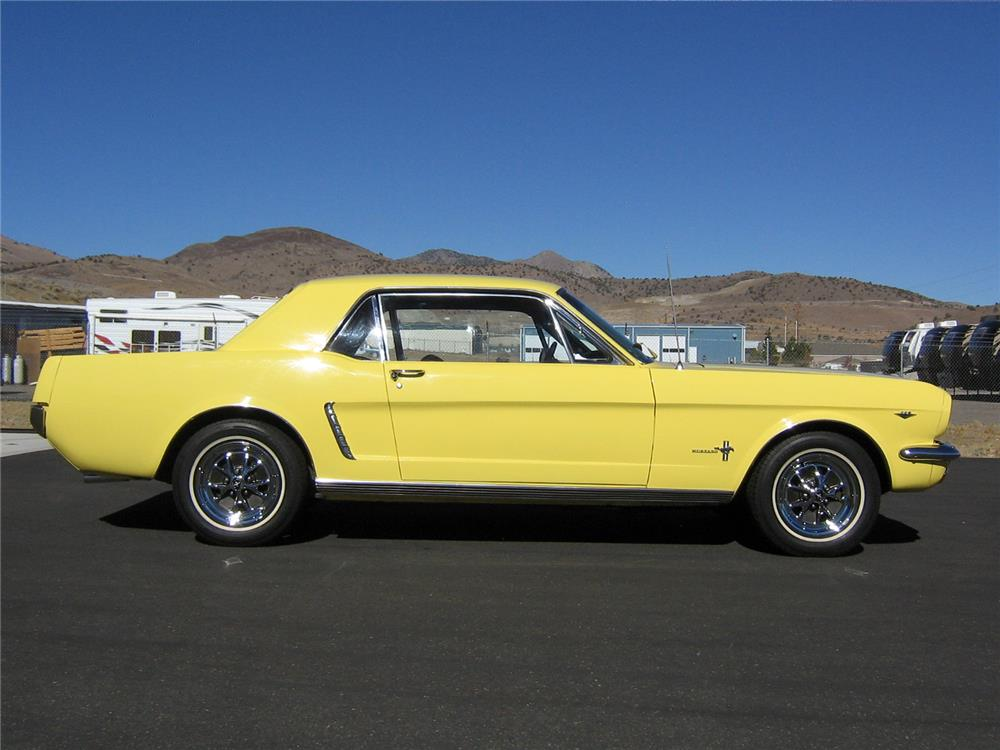 1965 FORD MUSTANG - Side Profile - 181194