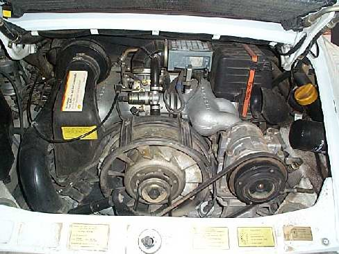1987 PORSCHE 911 CARRERA CABRIOLET - Engine - 18120
