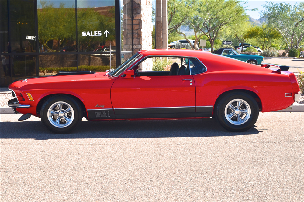 1970 FORD MUSTANG MACH 1 CUSTOM FASTBACK - Side Profile - 181212