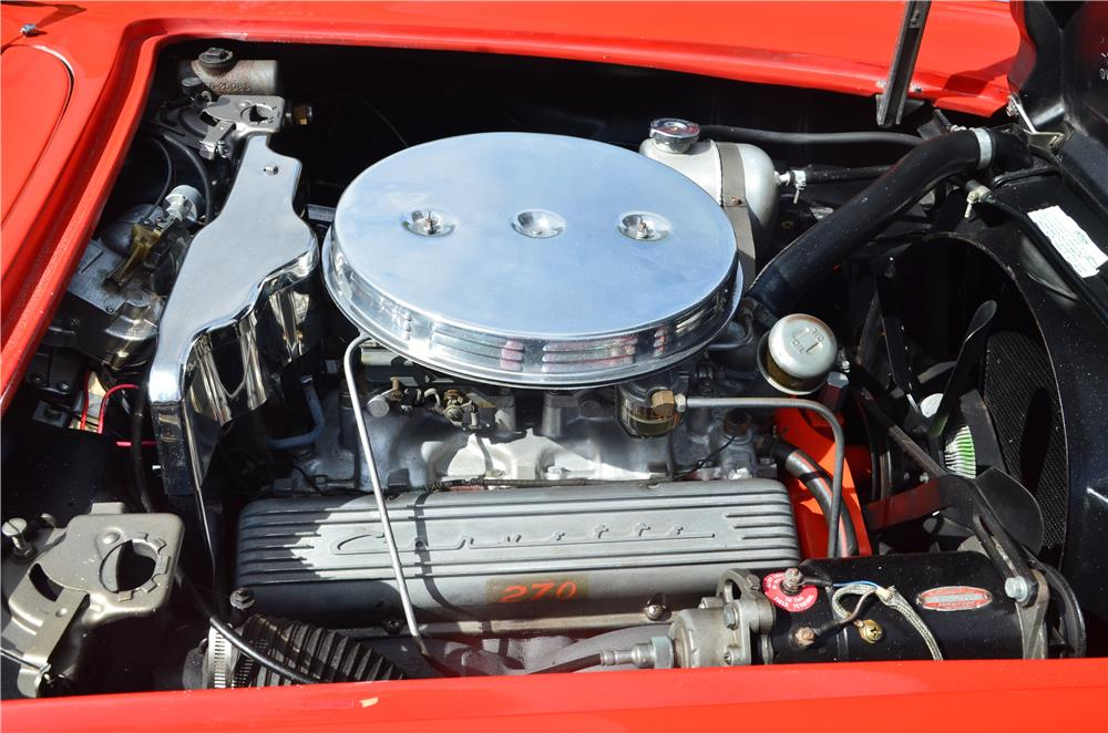 1961 CHEVROLET CORVETTE CONVERTIBLE - Engine - 181221