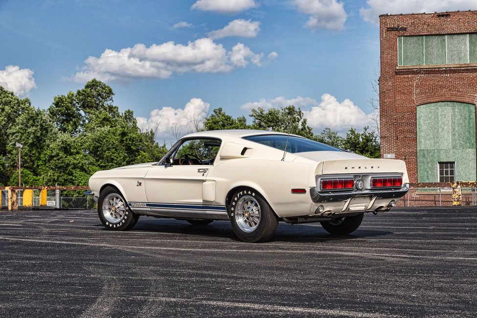 1968 SHELBY GT500 KR FASTBACK - Rear 3/4 - 181227
