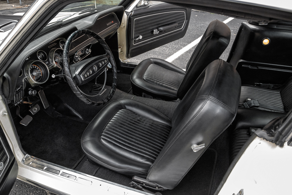ford mustang white interior for starters the mustangus interiors donut completely justify its. Black Bedroom Furniture Sets. Home Design Ideas