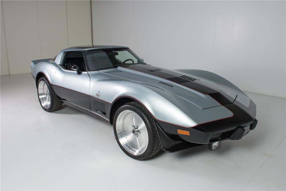1978 CHEVROLET CORVETTE JET TURBINE-POWERED CUSTOM - Front 3/4 - 181234