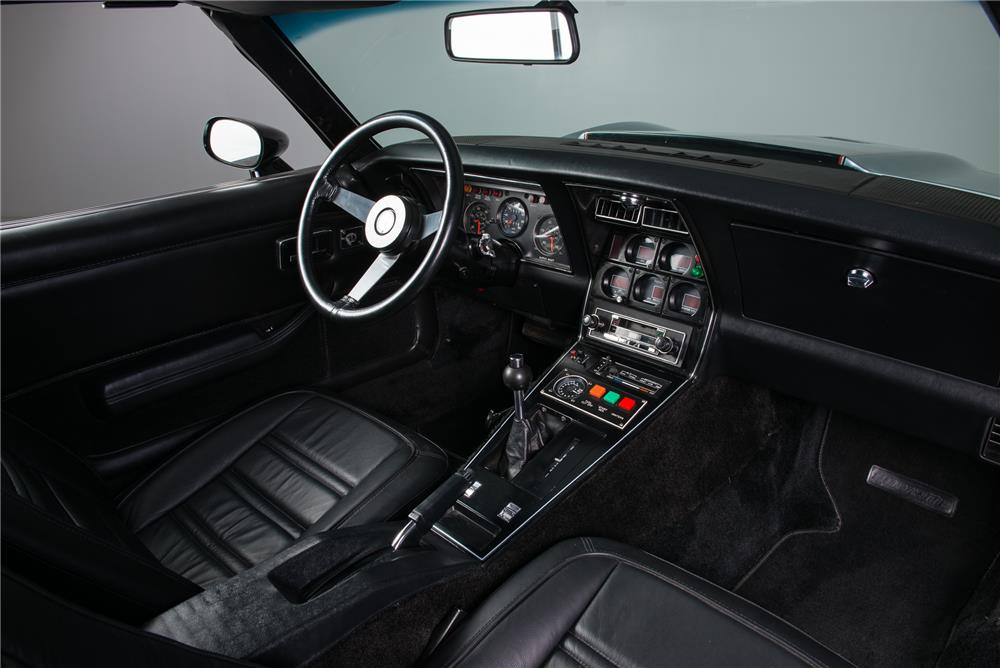 1978 CHEVROLET CORVETTE JET TURBINE-POWERED CUSTOM - Interior - 181234