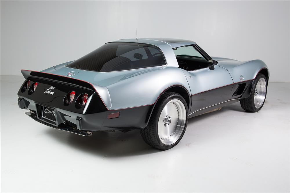 1978 CHEVROLET CORVETTE JET TURBINE-POWERED CUSTOM - Rear 3/4 - 181234