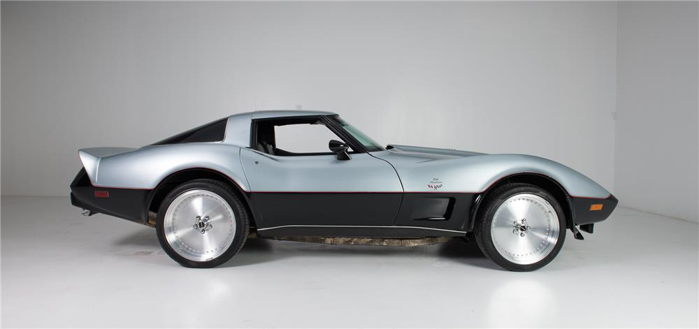 1978 CHEVROLET CORVETTE JET TURBINE-POWERED CUSTOM - Side Profile - 181234