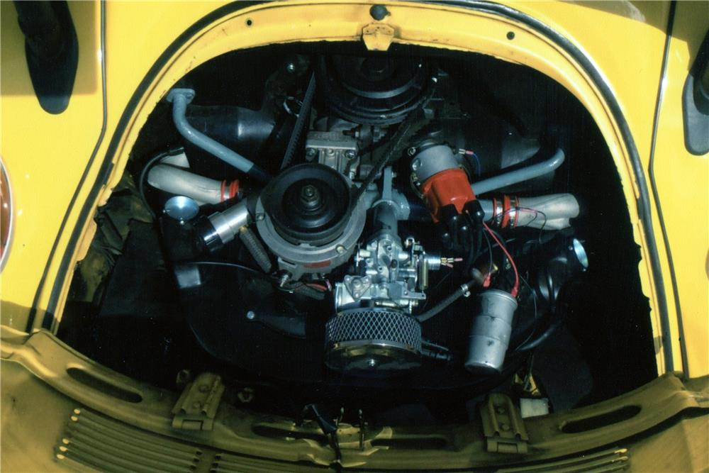 1976 VOLKSWAGEN BEETLE CONVERTIBLE - Engine - 181245