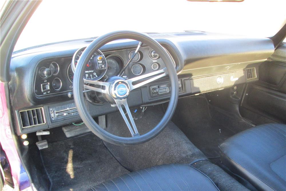 1970 CHEVROLET CAMARO - Interior - 181248