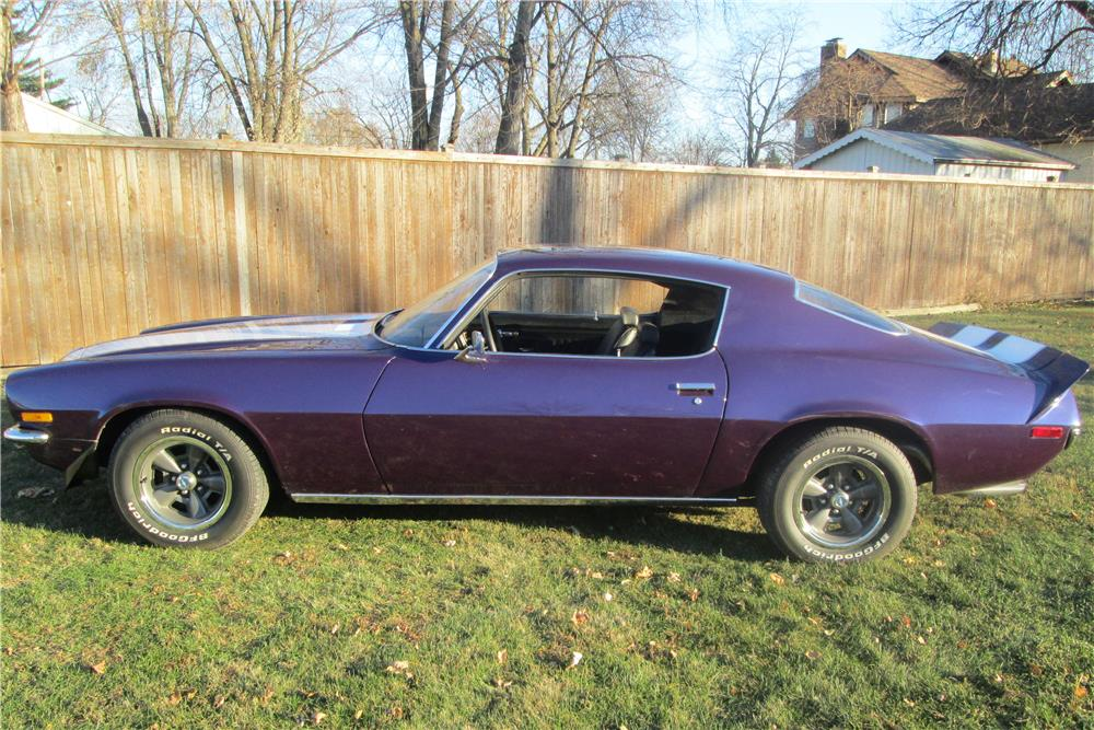 1970 CHEVROLET CAMARO - Side Profile - 181248