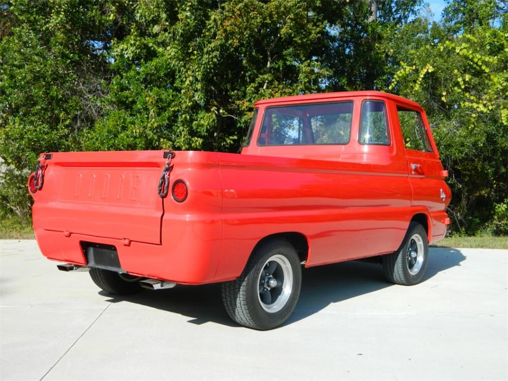 1965 DODGE A100 CUSTOM PICKUP - Rear 3/4 - 181256