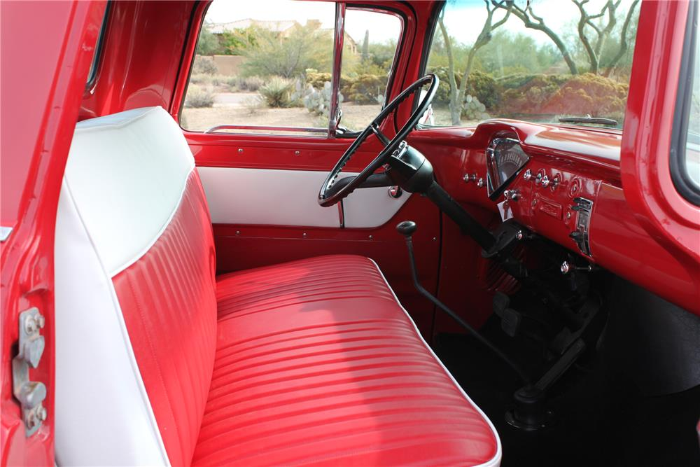 1959 CHEVROLET 3100 PICKUP - Interior - 181258