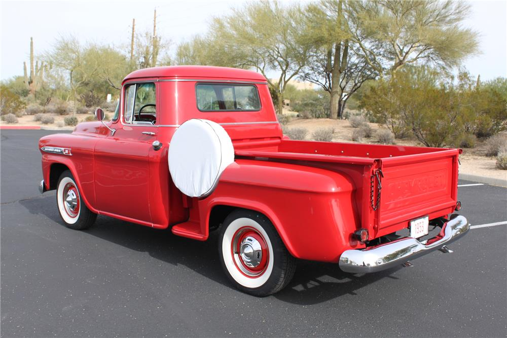 1959 CHEVROLET 3100 PICKUP - Rear 3/4 - 181258