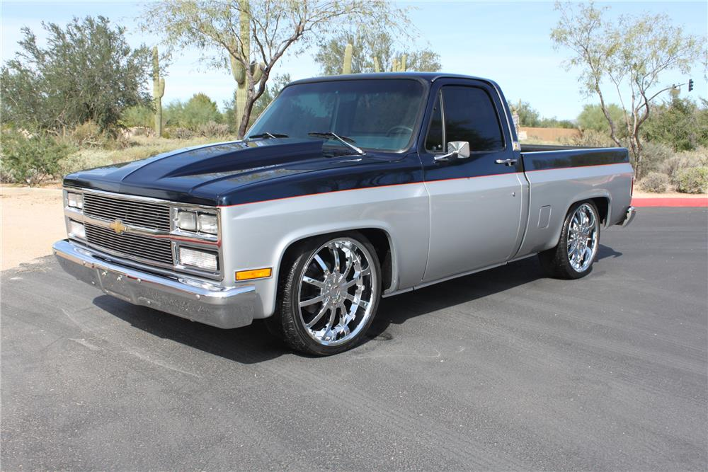 1985 CHEVROLET C-10 CUSTOM PICKUP
