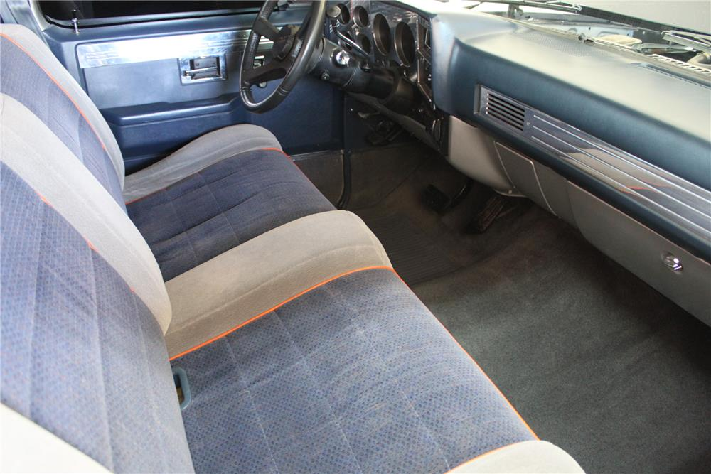 1985 CHEVROLET C-10 CUSTOM PICKUP - Interior - 181259