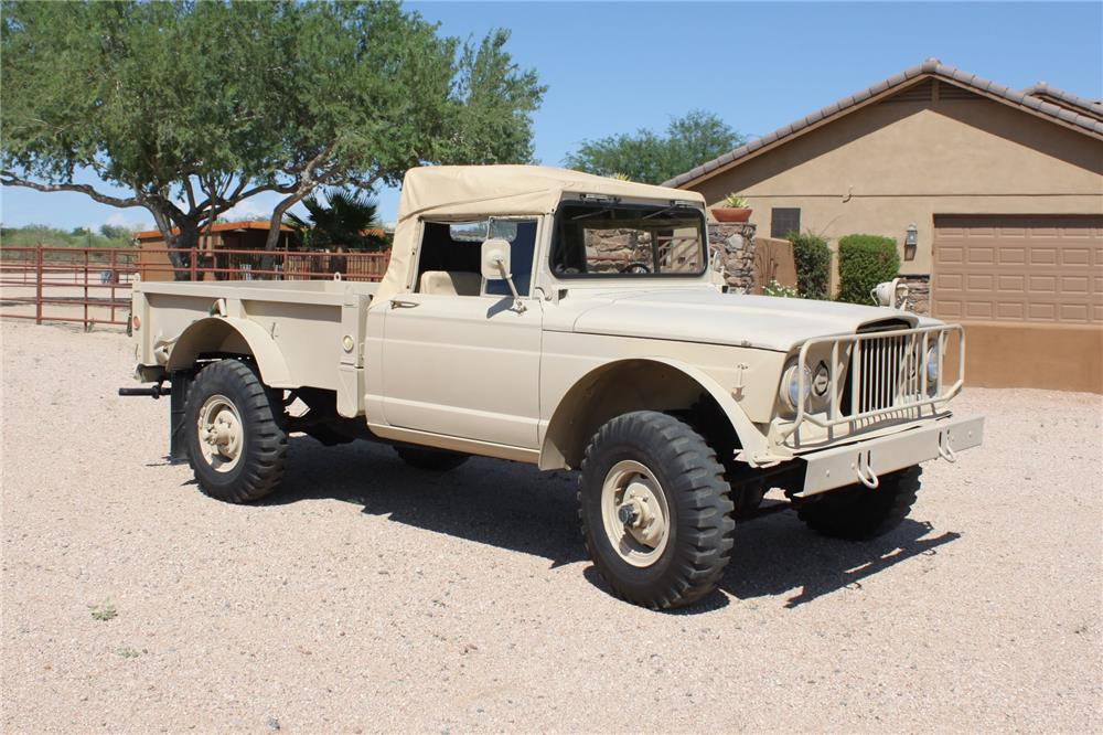 1967 jeep m715 pickup   front 3 4   181262