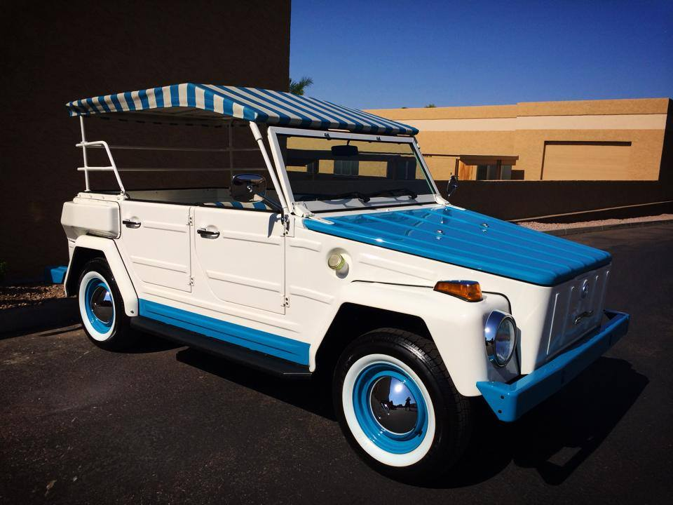 1974 VOLKSWAGEN THING CUSTOM CONVERTIBLE - Front 3/4 - 181268