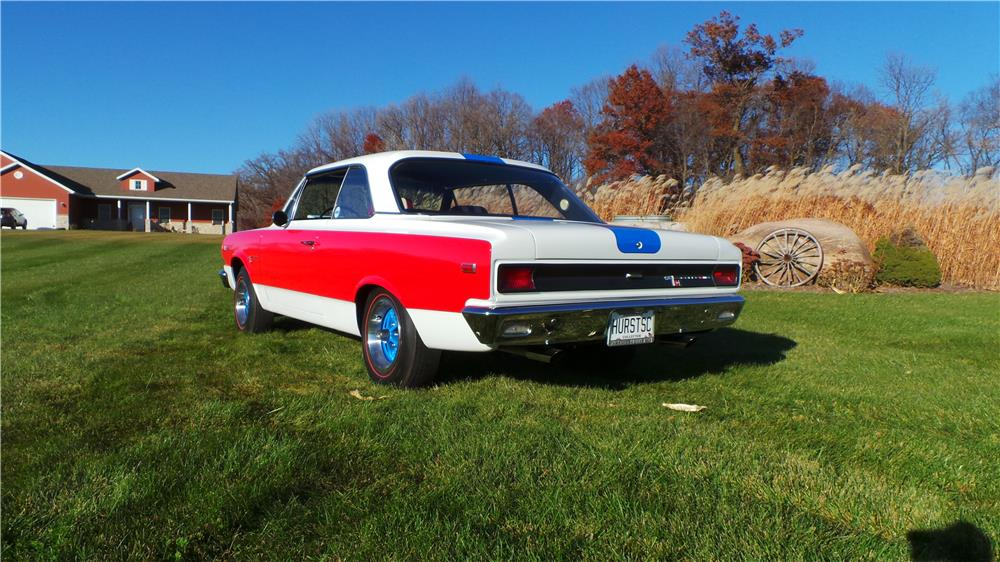 1969 AMC RAMBLER AMERICAN - Rear 3/4 - 181284