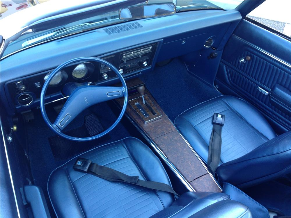 1969 PONTIAC FIREBIRD CONVERTIBLE - Interior - 181286