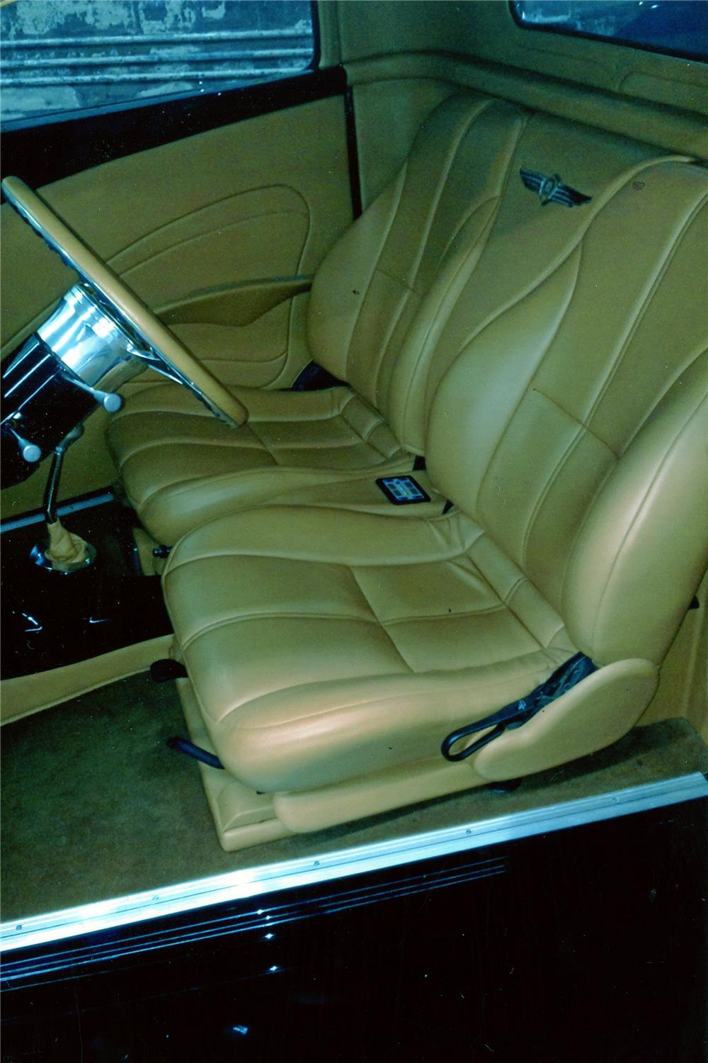 1934 DODGE CUSTOM PICKUP - Interior - 181289