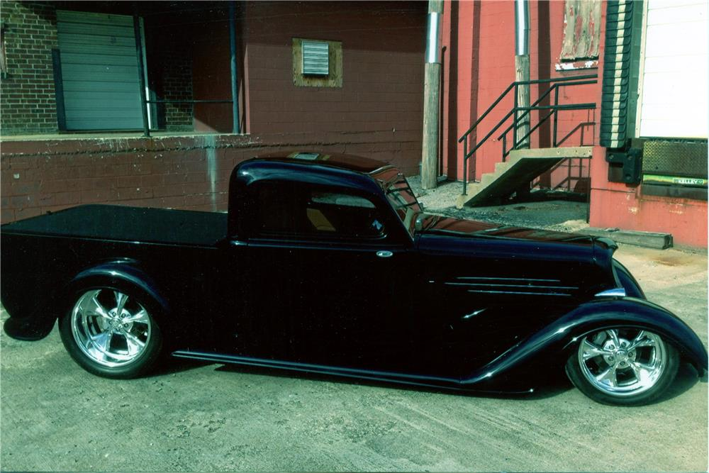1934 DODGE CUSTOM PICKUP - Side Profile - 181289