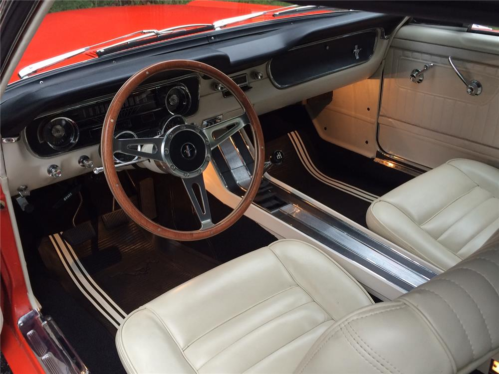 1965 FORD MUSTANG CONVERTIBLE - 181296