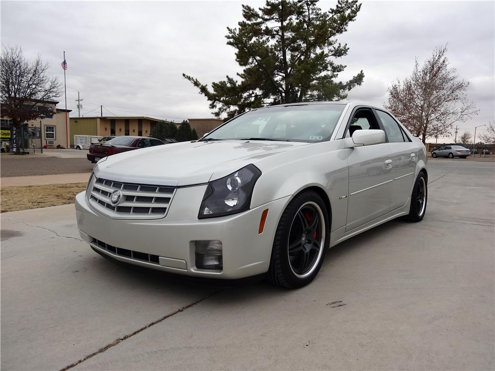 2004 cadillac cts custom 4 door coupe 181299. Black Bedroom Furniture Sets. Home Design Ideas
