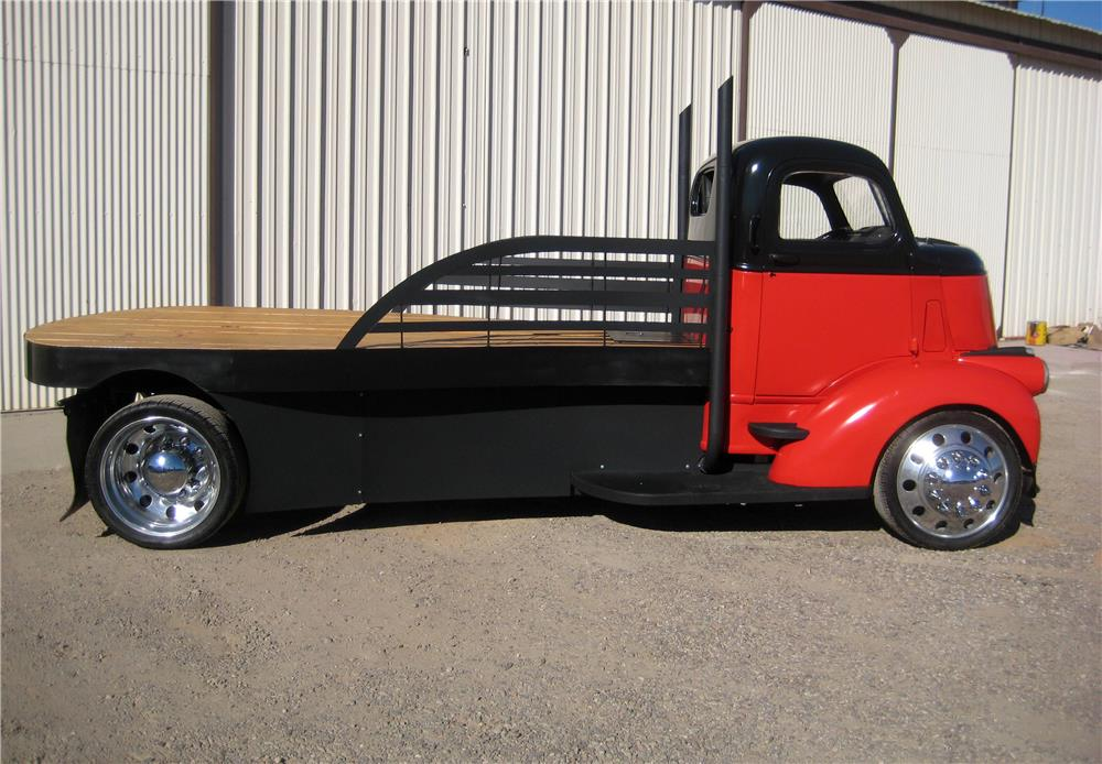 1946 GMC CUSTOM FLATBED TRUCK - Side Profile - 181300