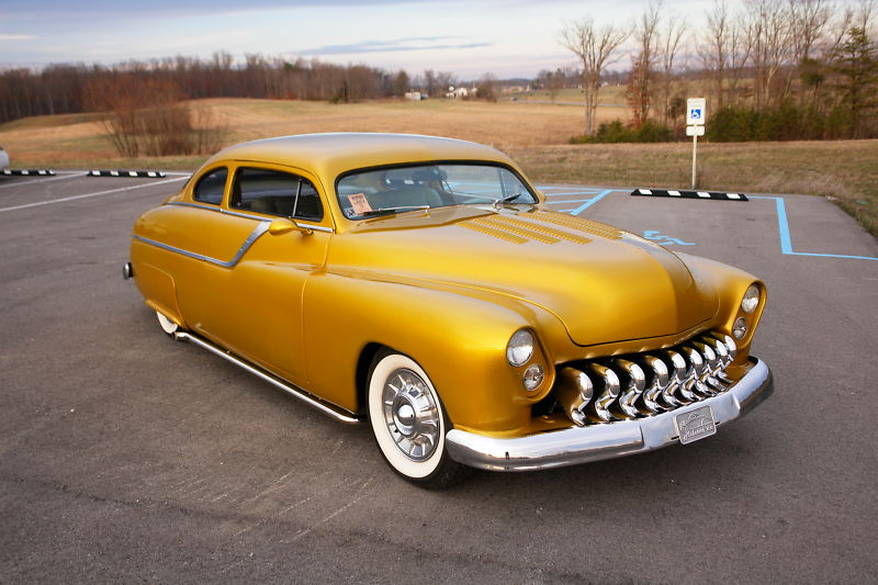 1949 MERCURY CUSTOM 2 DOOR COUPE - Front 3/4 - 181306
