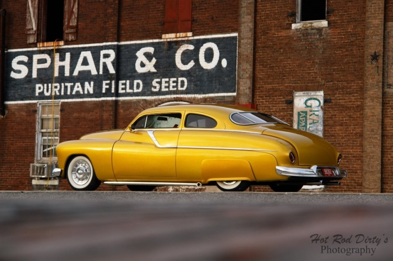 1949 MERCURY CUSTOM 2 DOOR COUPE - Side Profile - 181306