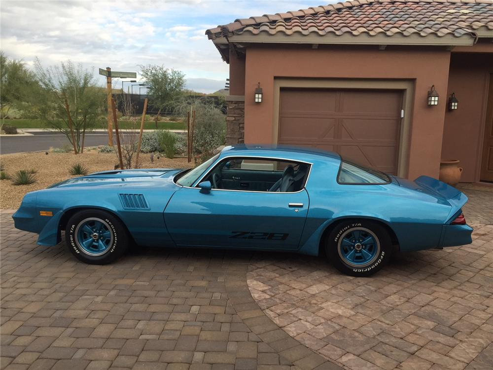 1979 CHEVROLET CAMARO Z/28 - Side Profile - 181307
