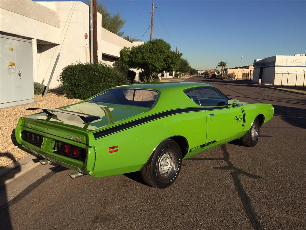 1971 DODGE CHARGER R/T - Rear 3/4 - 181308