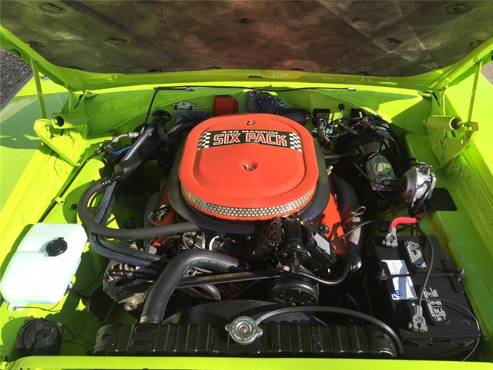 1970 DODGE CHARGER R/T - Engine - 181310