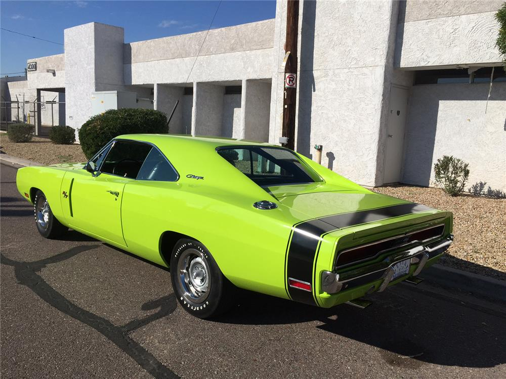 1970 DODGE CHARGER R/T - Rear 3/4 - 181310